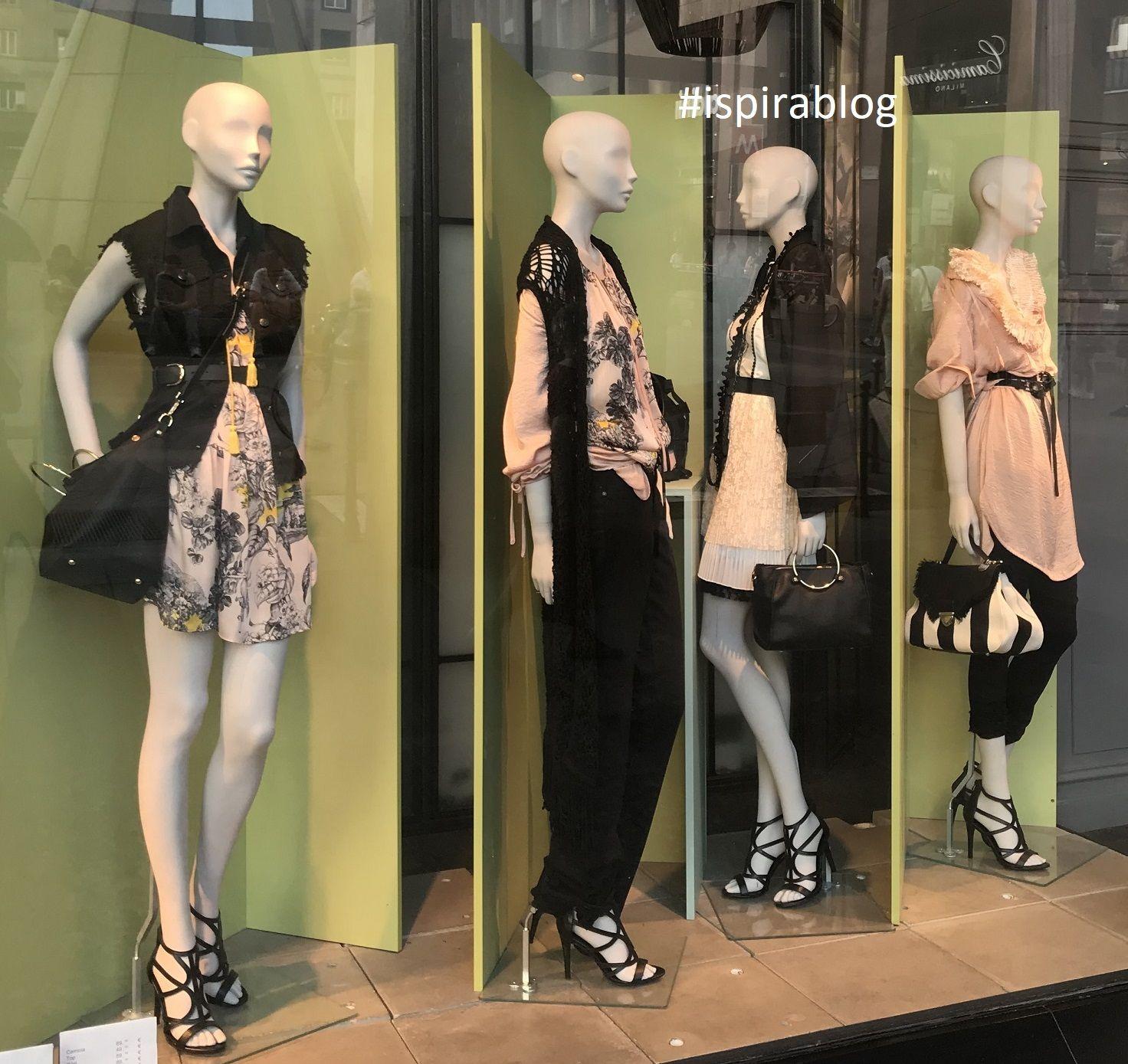 Sisley Milan Summer 2018 Womenswear Collection black