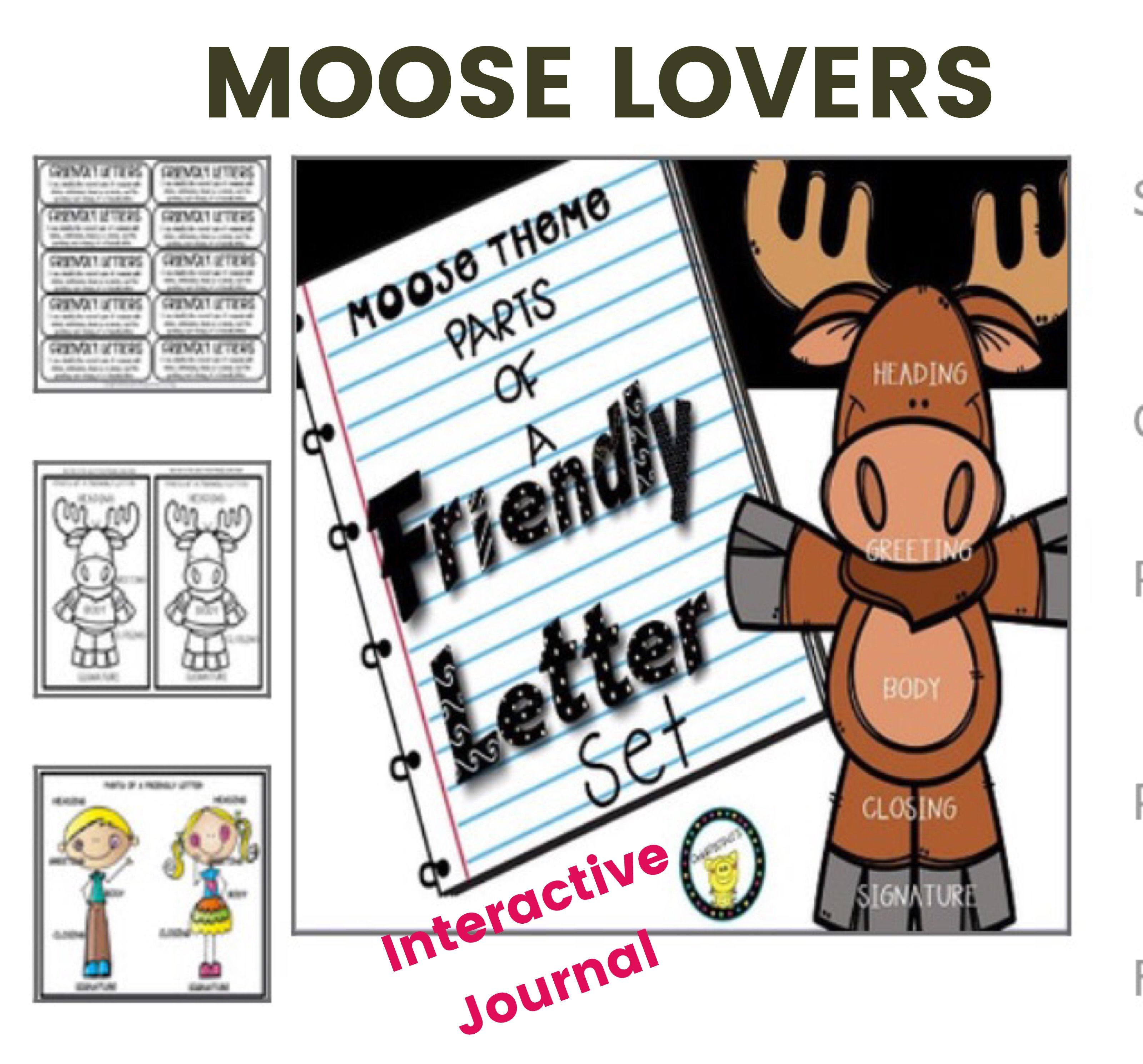 friendly letter writing activities | tpt oink4pigtales store