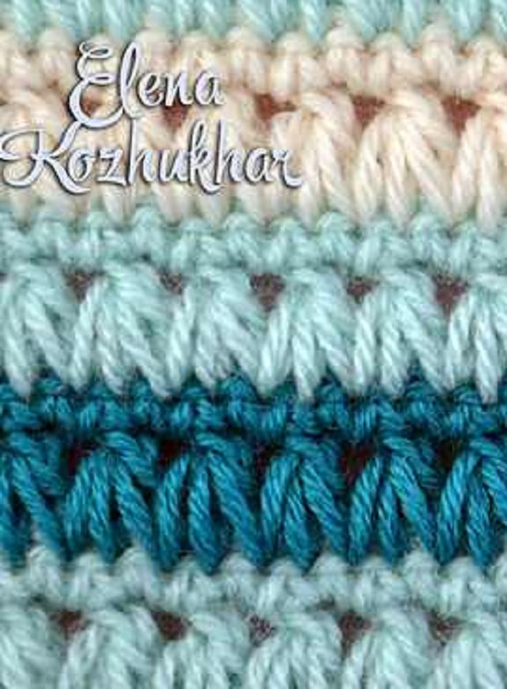 Learn A New Crochet Stitch Triads Crochet Stitch Crochet Stitches