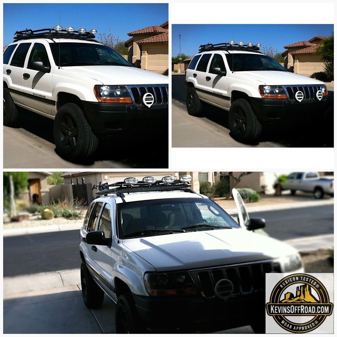 Jeep Grand Cherokee Wj Roof Rack Safari Style Jeep Grand Jeep Grand Cherokee Jeep