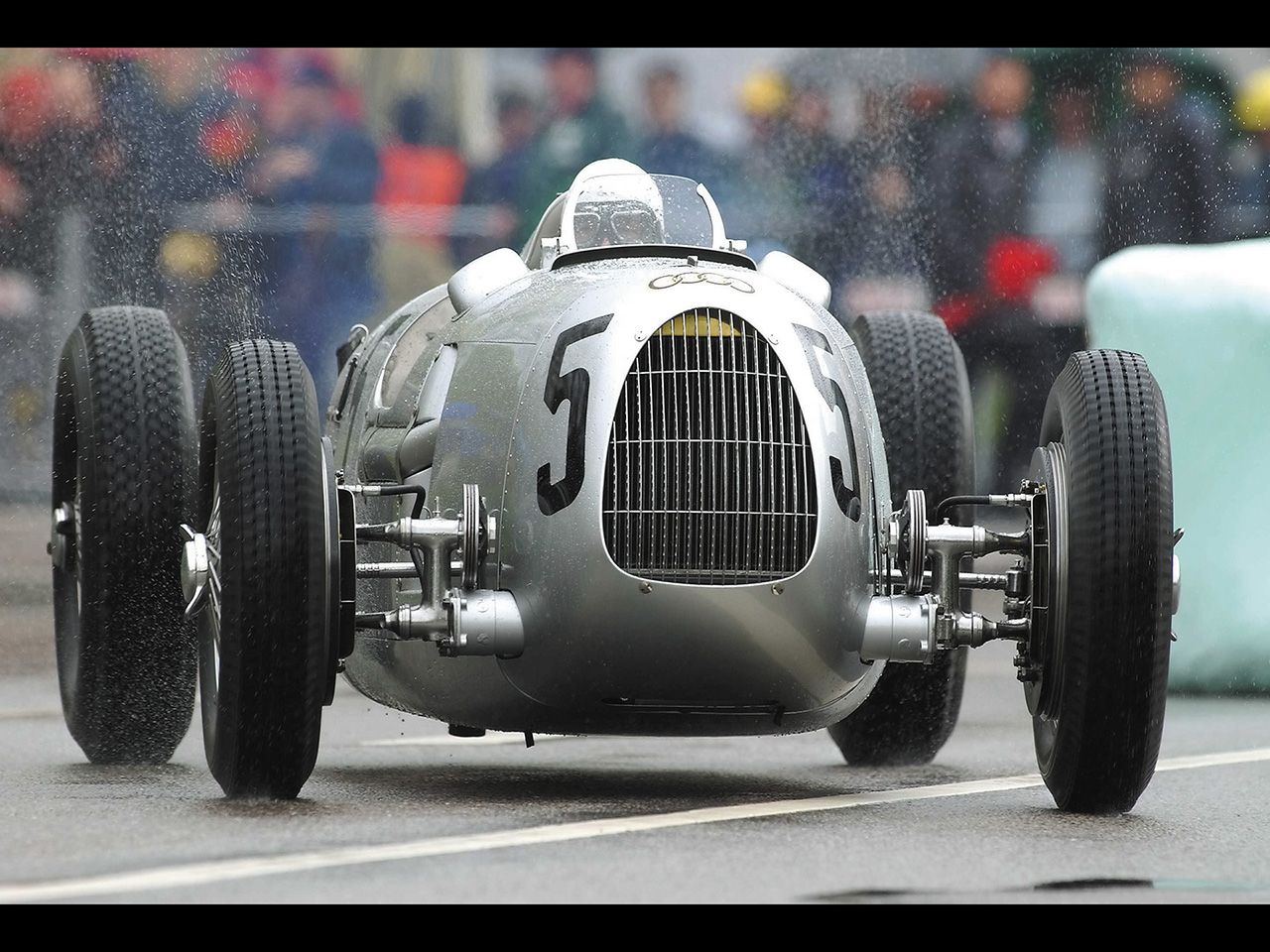 Auto Union Type C - 1936 Car at Donau Ring 2002 - 1280x960 ...