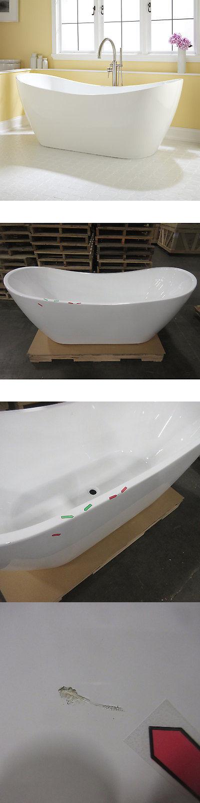 Bathtubs 42025: Signature Hardware Sale 72 Sheba Acrylic Double ...