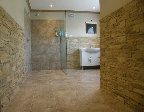 Bathroom Wall Panels Can Be Made To Look Like Stone And They 39 Re A Lot Cheaper For Other