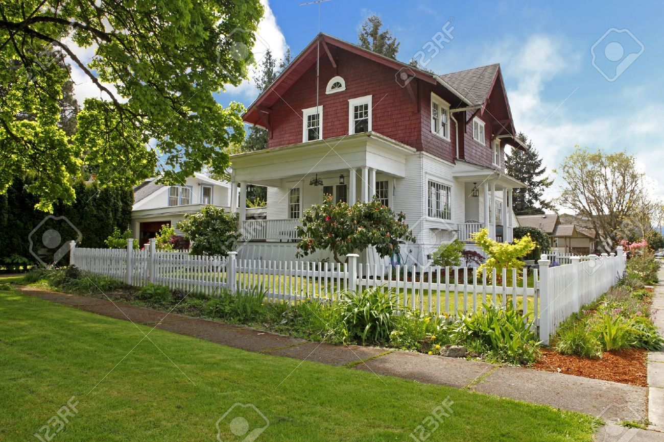House · classic large craftsman old american house exterior