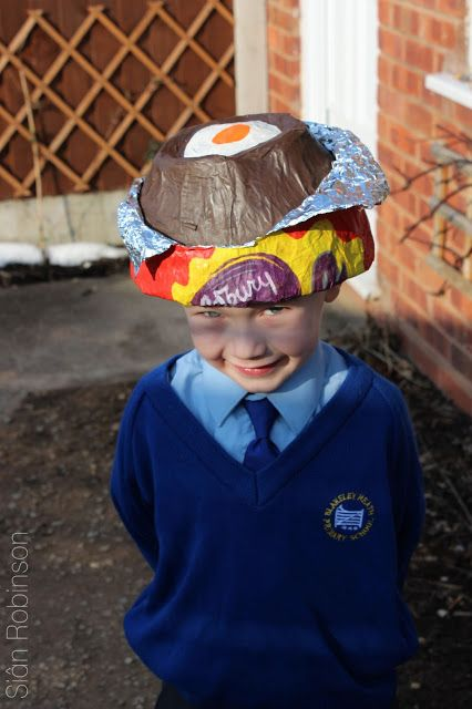 Hah easter bonnet for boys or girls for that matter cadbury easter bonnet for boys or girls for that matter cadbury egg hat diy negle Image collections