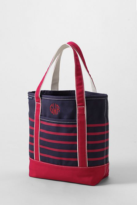 1571cfa858e5 Print Medium Open Top Tote from Lands  End