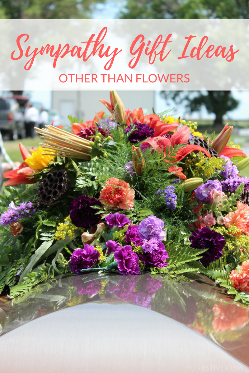 Not sure what to give or say to someone who has just lost a loved one? Here's 7 Meaningful Sympathy Gift Ideas. Hint- not flowers!