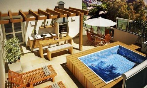 Piscinas pequenas para cobertura home inspiration for Modelos de piscinas pequenas