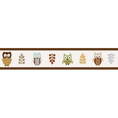 JoJo Designs Owl Wallpaper Border, at Wayfair Owl