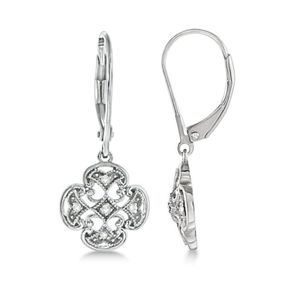 Uniquepedia.com - 0.10ct Four Leaf Clover Shaped Drop Diamond Earrings For Women 14k White Gold Good Luck, $510.00 (http://www.uniquepedia.com/0-10ct-four-leaf-clover-shaped-drop-diamond-earrings-for-women-14k-white-gold-good-luck/)