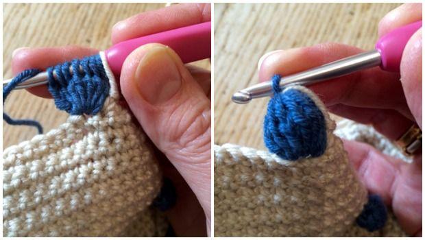 Crochet with Kate: Beautiful Bobble Cushion | Free pattern, Crochet ...