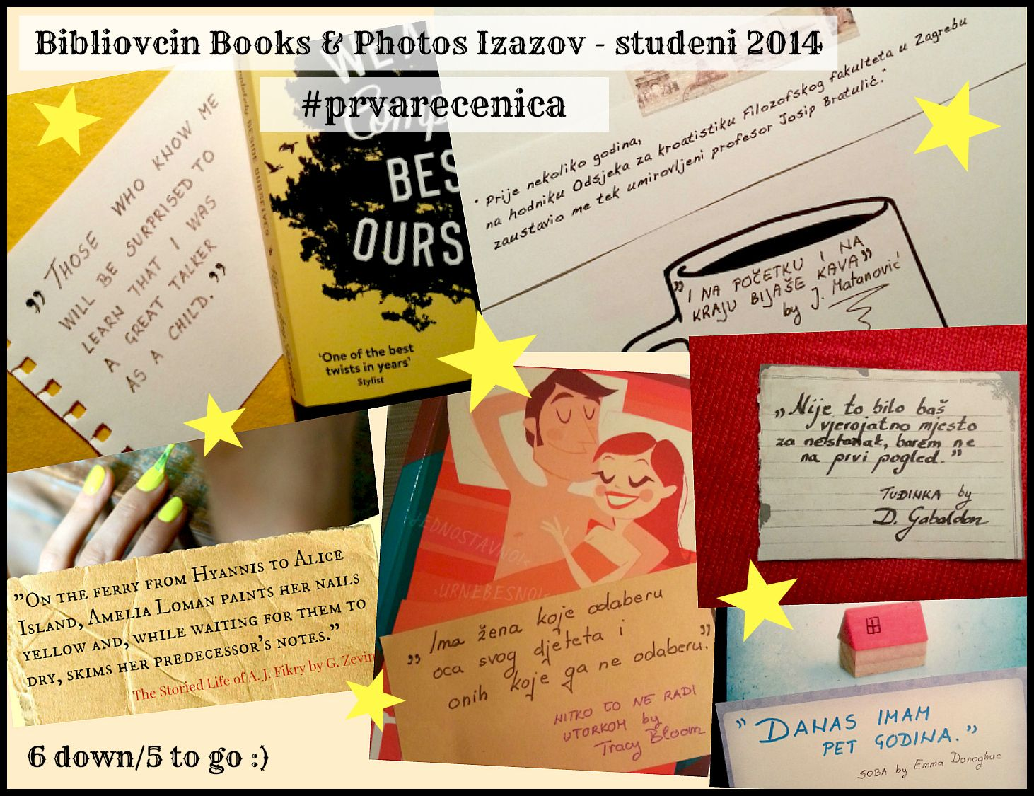 November 2014 challenge: #prvarecenica by Iva