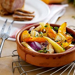 This roasted winter veggies recipe made in the Philips Airfryer make a great side dish. Pair them along with your Thanksgiving turkey.