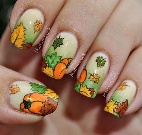 Fall Nail Designs 2013 Latest Fall Nail Art Designs Trends