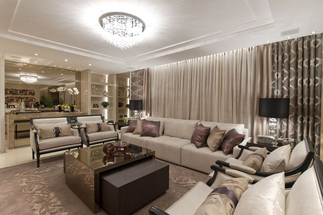 Veja alguns exemplos de lindas salas de estar