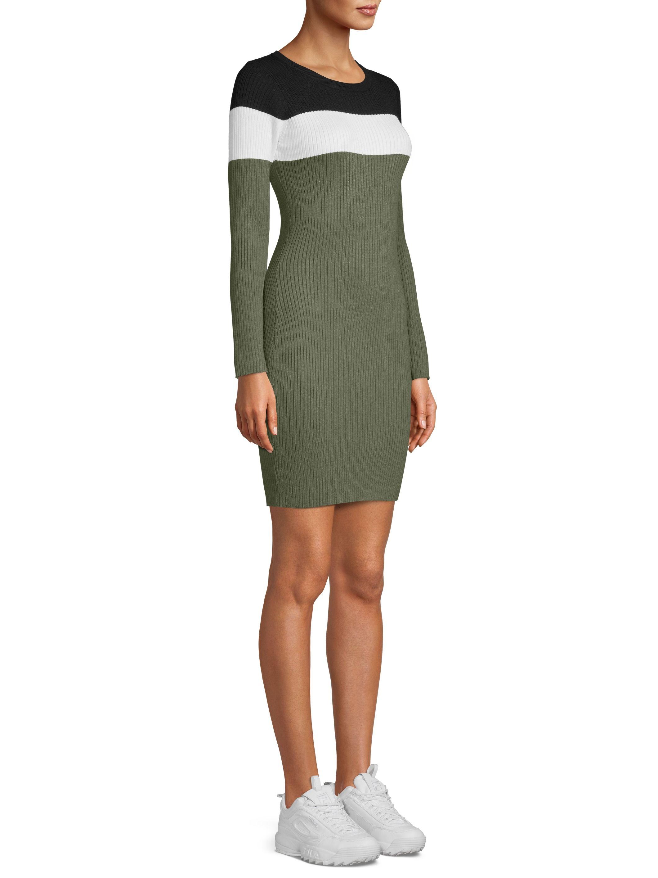 No Boundaries No Boundaries Juniors Long Sleeve Striped Rib Dress Walmart Com Ribbed Dresses Fashion Dresses [ 2828 x 2121 Pixel ]
