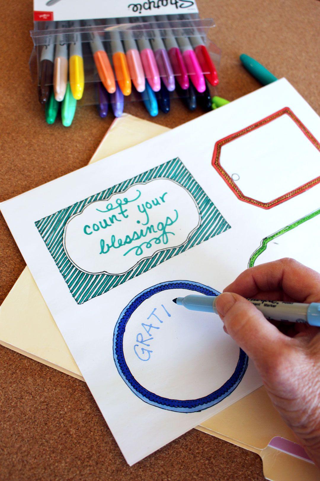 Make A Count Your Blessings Gratitude Jar For November