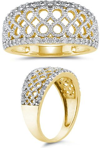 applesofgold diamond infinity design ring 0 30 carats