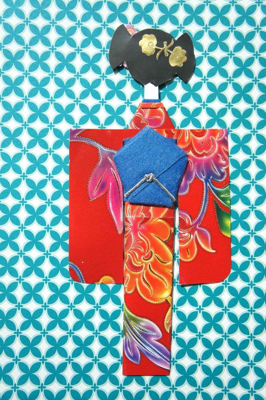 Святого валентина, японская открытка бумага