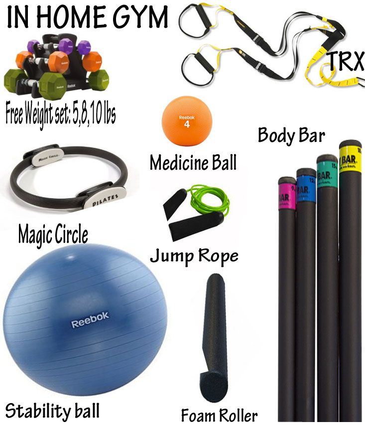 Statuette of home gym essentials for your health investment