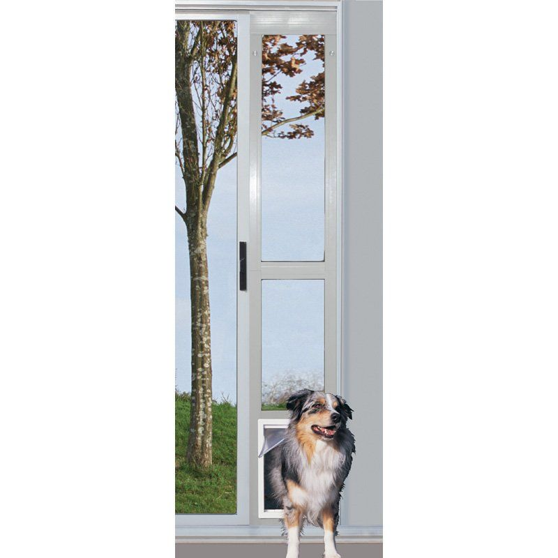Have To Have It Ideal Modular Sliding Glass Dog Door 239 99 Pet Patio Door Sliding Glass Dog Door