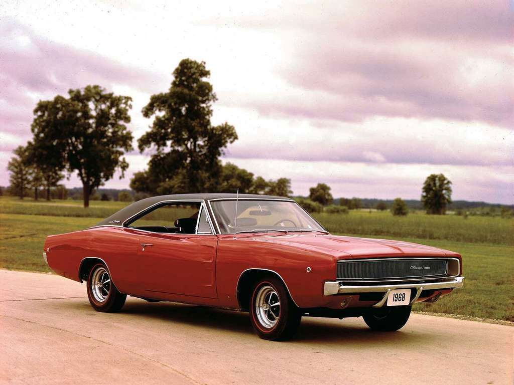 1968 Dodge Charger. Sure wish I still had my old ride ...