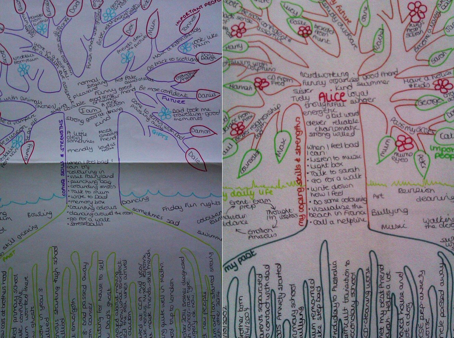 Narrative Therapy Project Tree Of Life
