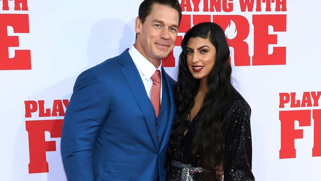 John Cena Opens Up About Relationship With New Girlfriend Shay Shariatzadeh Https Www Bringznews Com John C New Girlfriend John Cena Dancing With The Stars