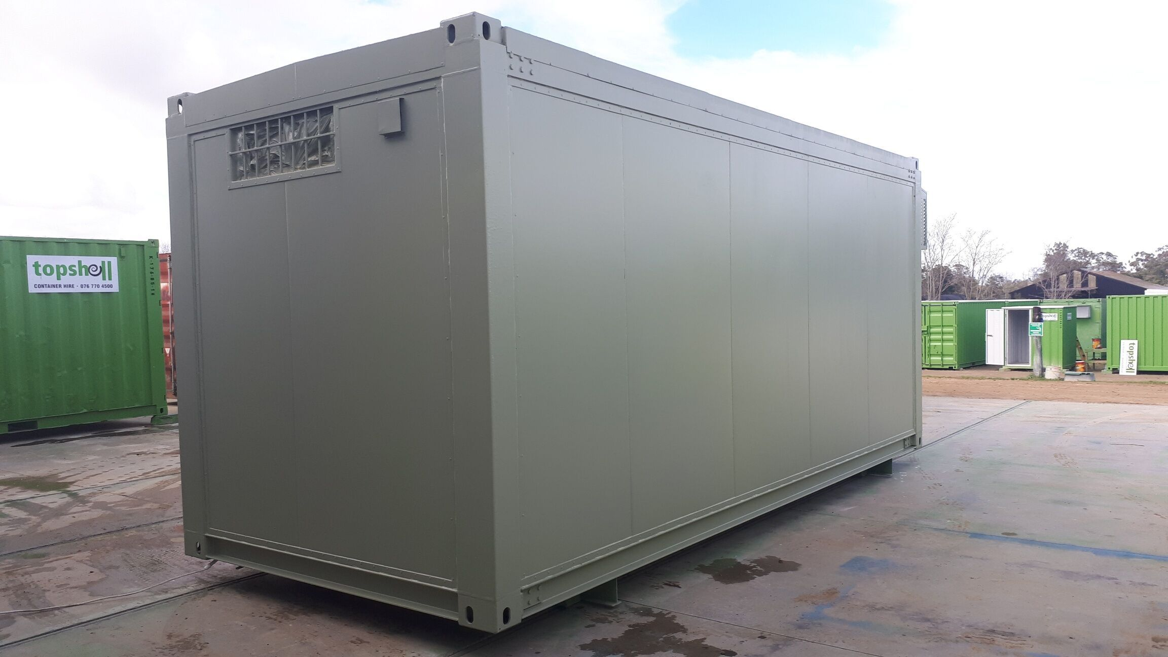 Storage Facilities & Mobile Office Solutions Office