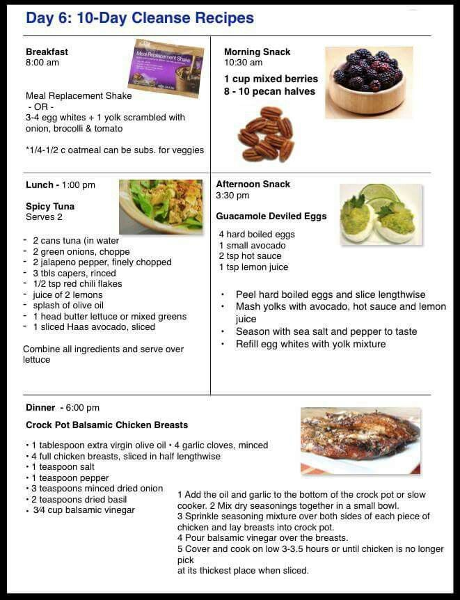 Day 6 advocare challenge meal ideas Advocare Cleanse Recipes Days 1 10 Meals,  Advocare 10