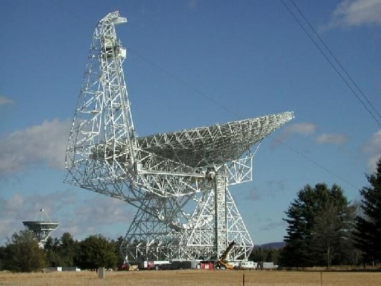 Green Bank Telescope Located In West Virginia