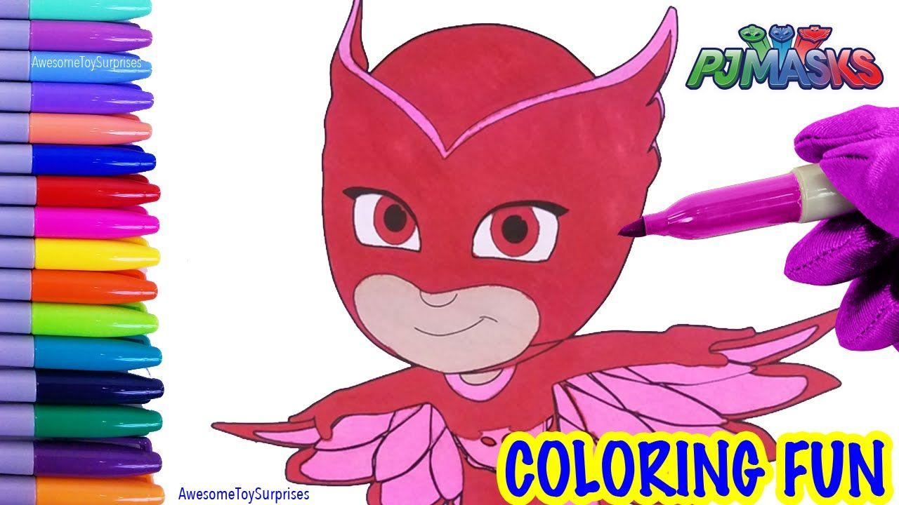 Free coloring pages pj masks - Pj Masks Owlette Coloring Page Fun Coloring Activity For Kids Toddlers