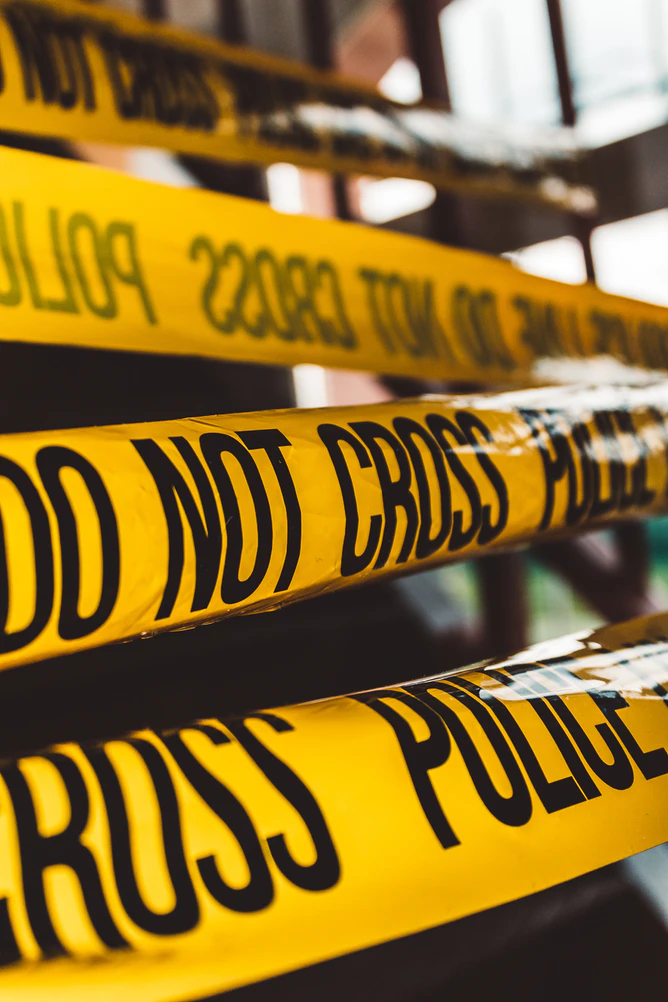 Do Not Cross Police Barricade Tape Close Up Photography Photo Free Human Image On Unsplash In 2020 True Crime Books True Crime Police