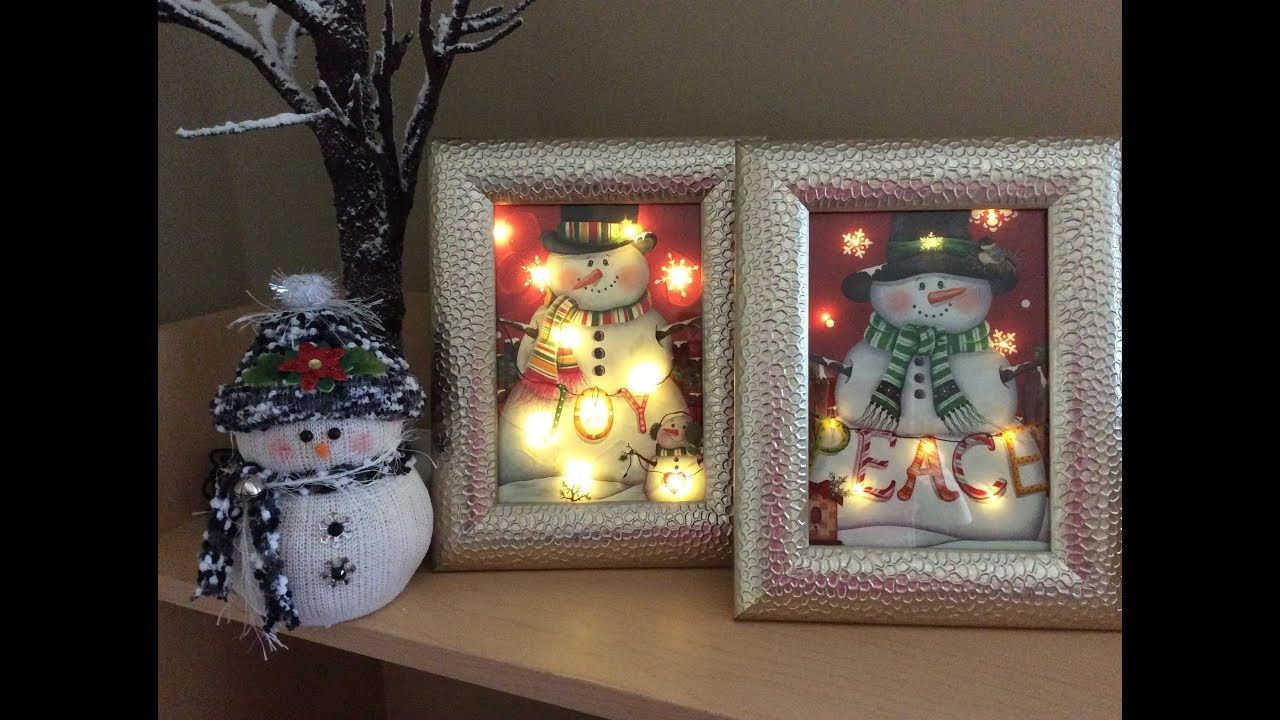 Dollar Tree lighted Christmas Bag DIY! 💗 YouTube