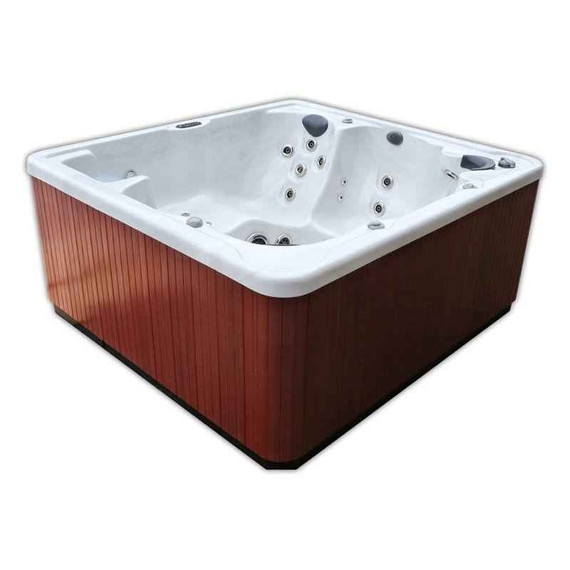 Home And Garden Spas 6 Person 80 Jet Hot Tub   LPI81LA