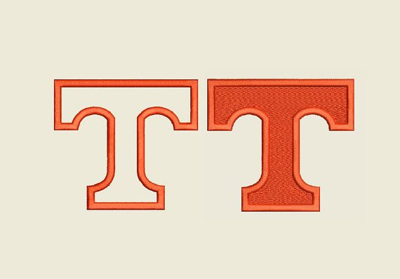 Tennessee Volunteers Machine Embroidery Design