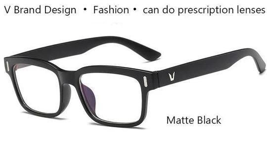 Square Glasses Men V Eyeglass Frame For Men Brand Designer Vintagedresskily Eyeglass Frames For Men Square Glasses Eyeglasses Frames