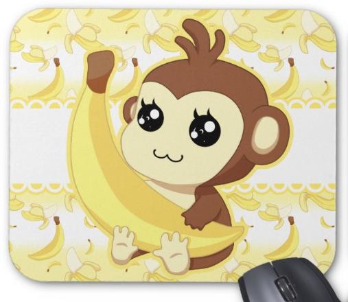 kawaii monkey with a banana  u2665 monkeys pinterest blanket clip art black blanket clipart white
