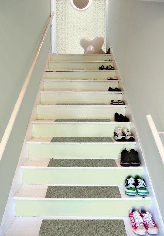 Best Repainting The Stairway Entry Stairways Painted Stairs 640 x 480