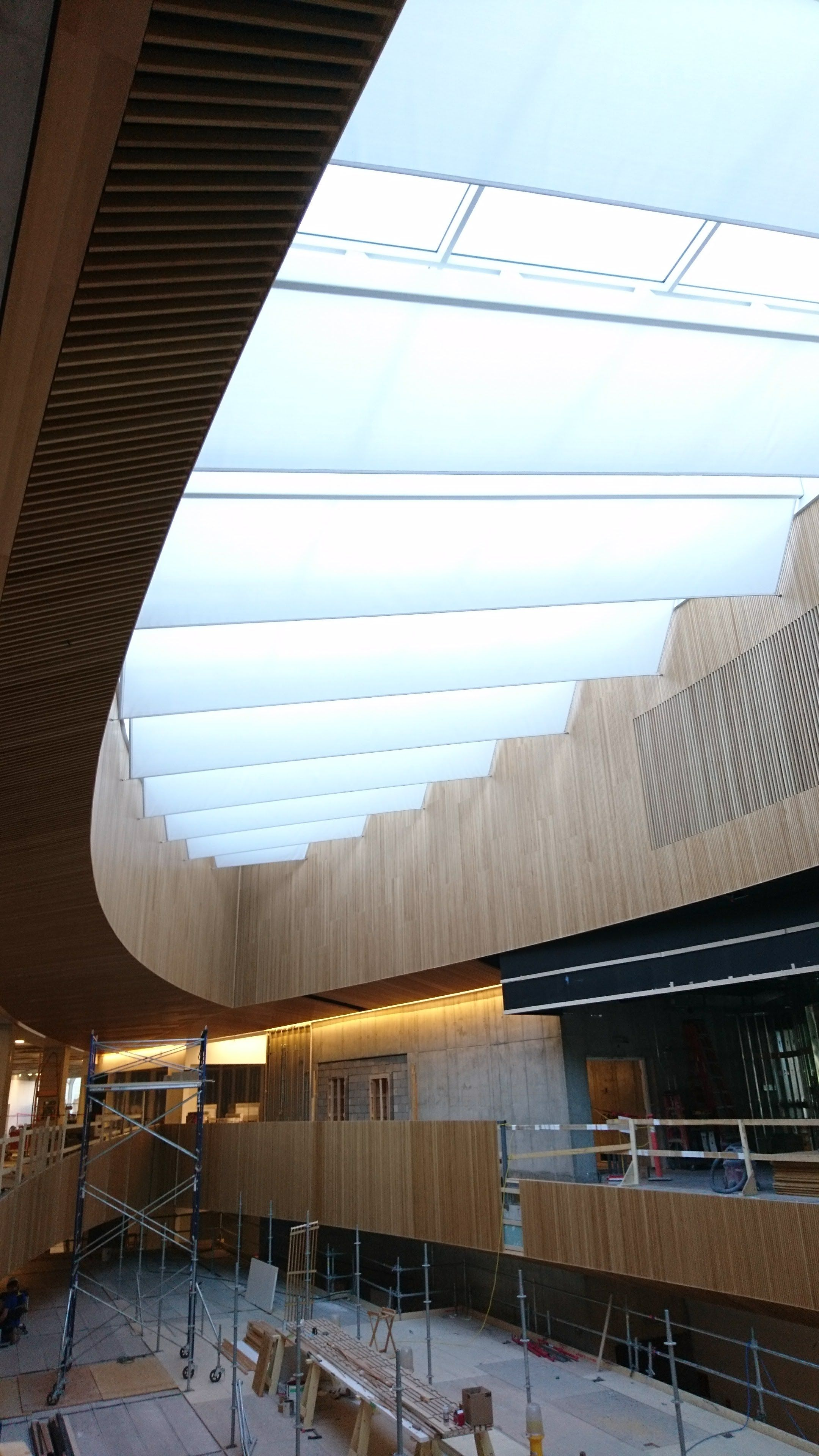 Pin by SEFAR® Architecture on Calgary Library Oculous