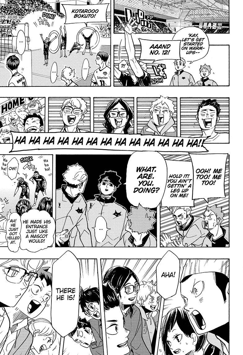 Haikyuu Chapter 379 | Read Haikyuu!! Manga Online