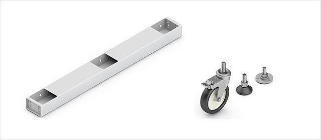 Zubehör für Tischuntergestell TU für hohe Traglasten – Ergoswiss AG