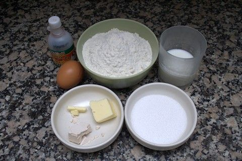 Bolas de Fraile Ingredientes 01