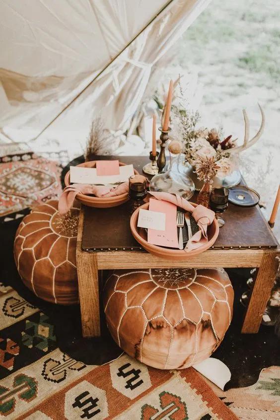Glamping: Een buiten bruiloft in luxe tenten