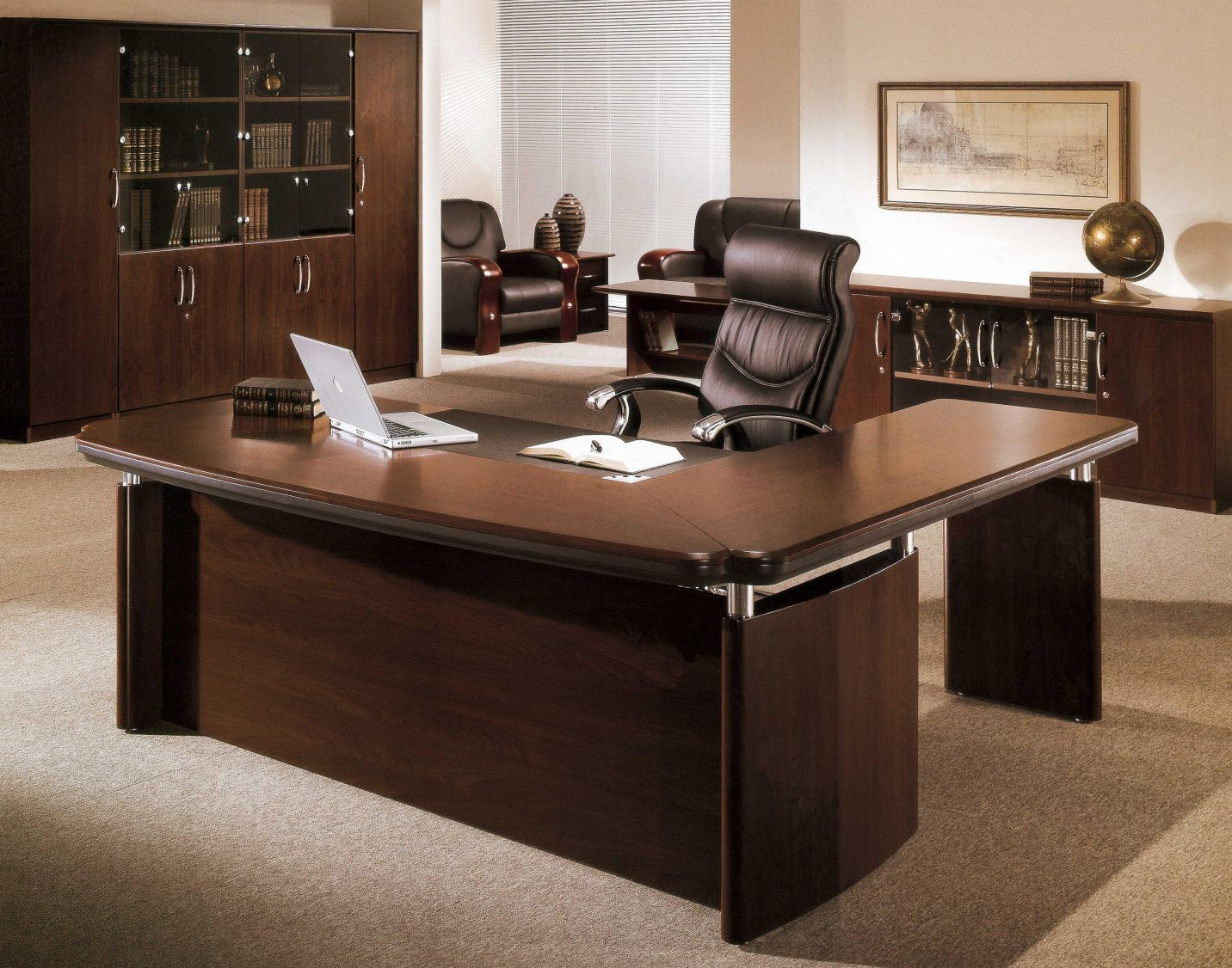 small executive office desk contemporary home office furniture rh pinterest com small executive office desk small executive desk for sale
