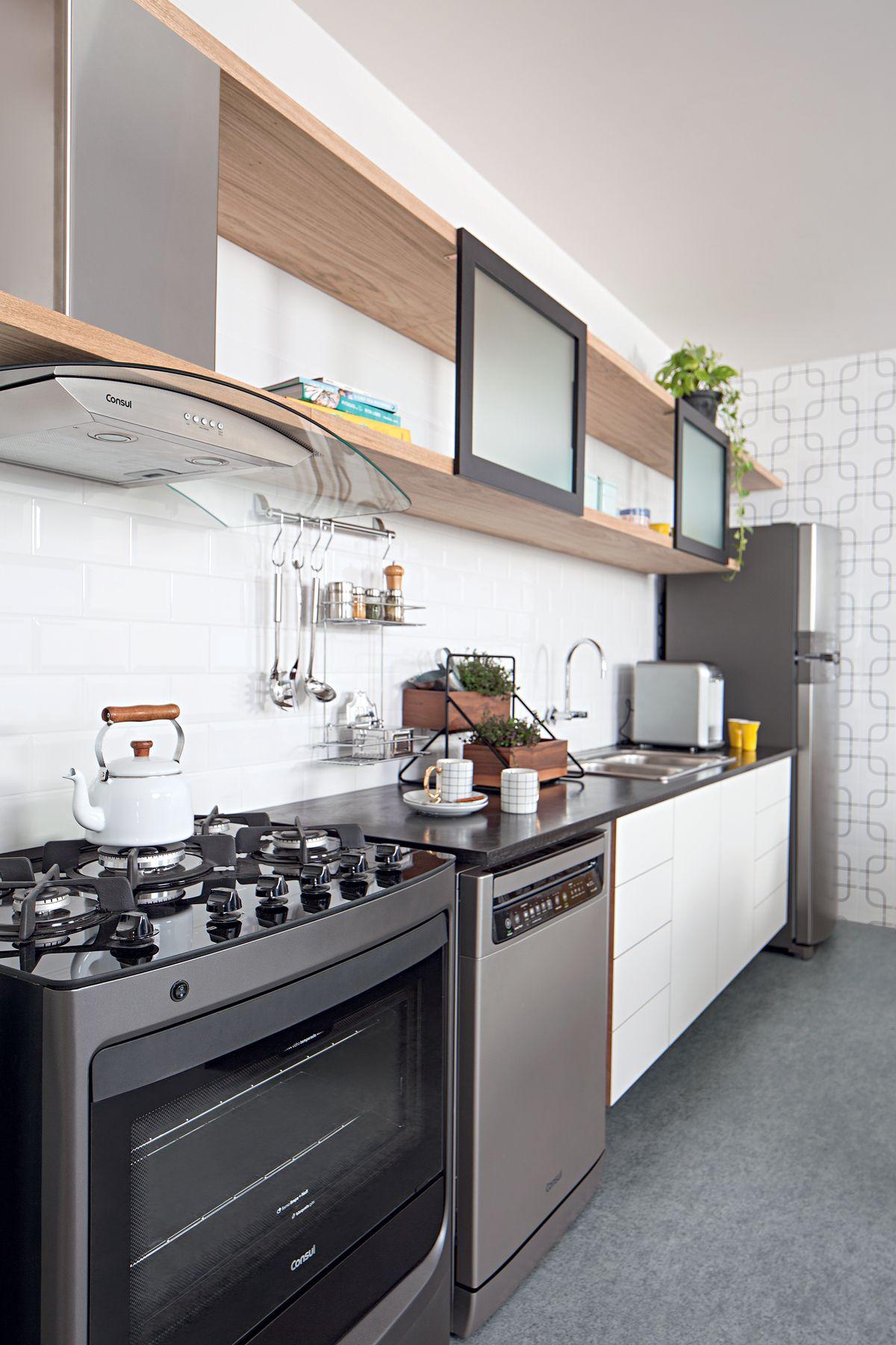 Cozinha Contempor Nea E Iluminada Para Quem Busca Praticidade