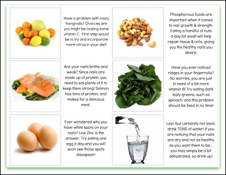 Consume these for healthy nails :) | Health and Fitness Inspiration ...