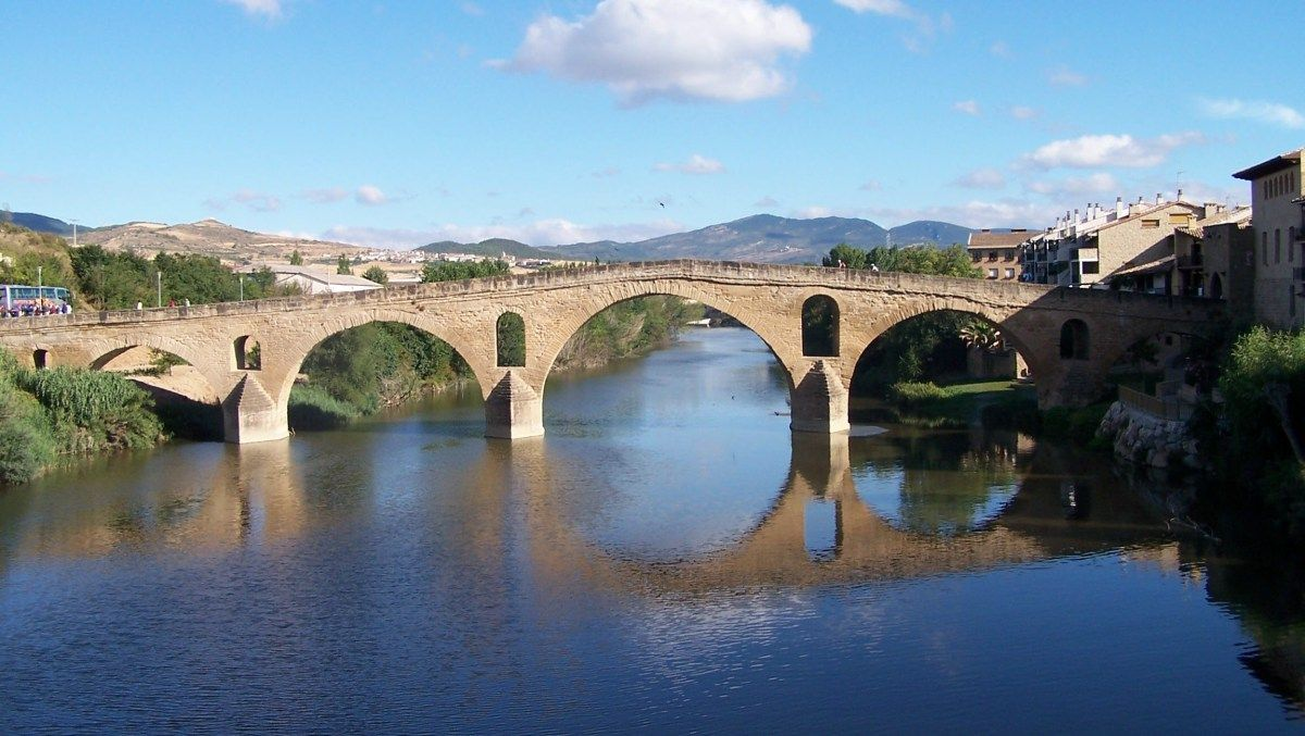 El Camino de Santiago en Bici - Etapa 3 Puente la Reina - Los Arcos