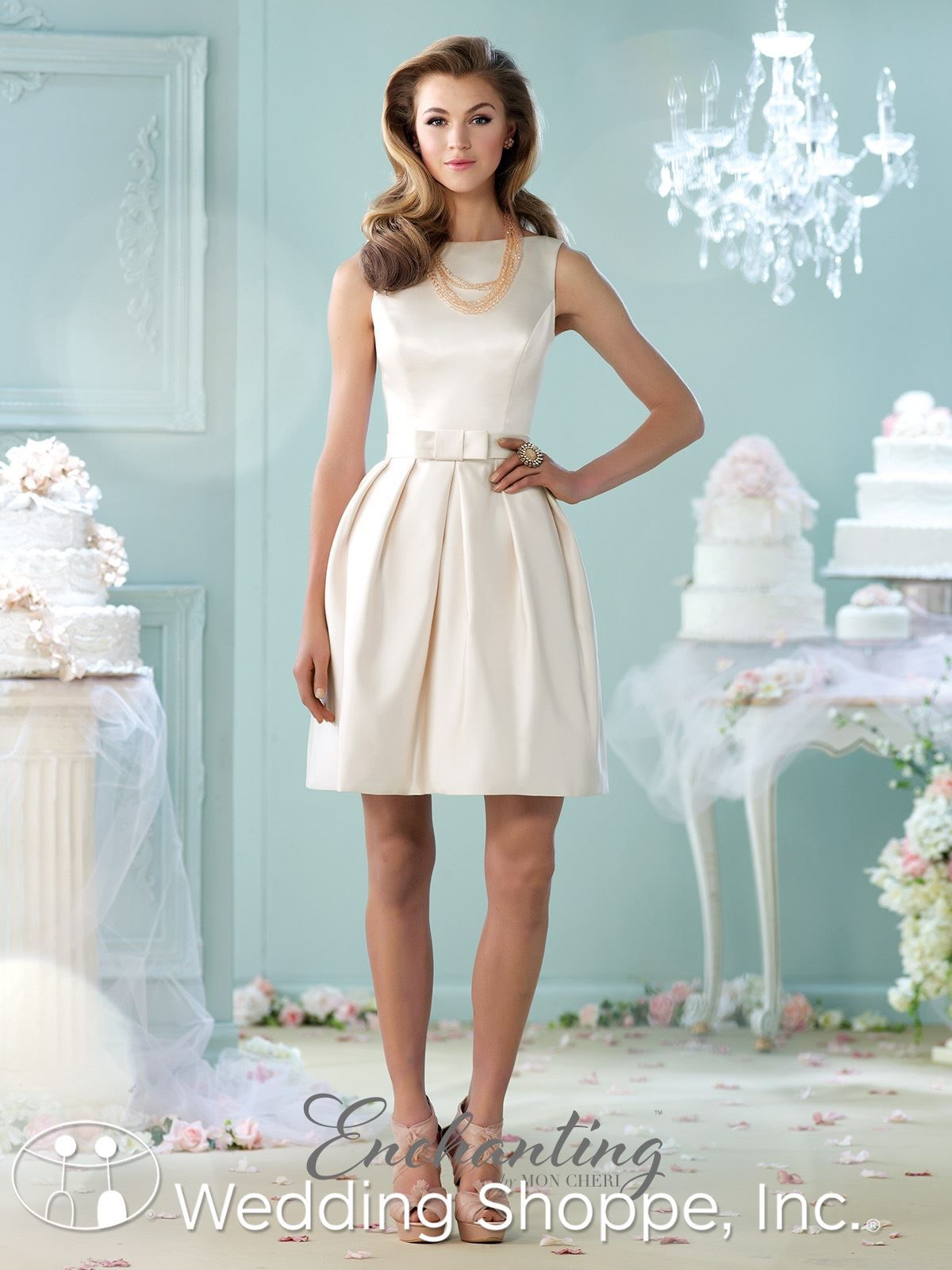 Love the front bow detail on this little white dress. | Short ...