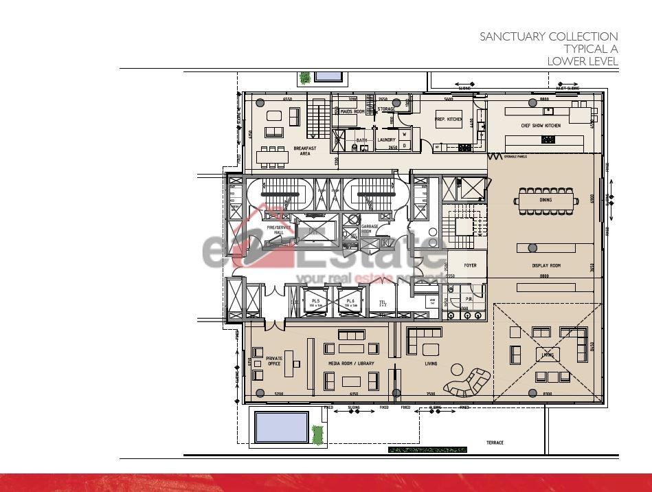 Floor Plans One At Palm Jumeirah | One At Palm Jumeirah Floor Plan ...